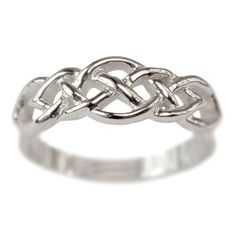 Celtic Knot Wedding Band Narrow | Handmade Wedding Rings | Handcrafted Jewelry at Turtle Love Co.