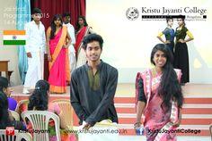 Jai Hind 2015 August 14 https://www.facebook.com/KristuJayantiCollege https://www.kristujayanti.edu.in
