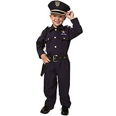 Dress up America Deluxe Police Officer Costume Set (S)