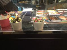 Frozen Yogurt, Café Tiffany, Lyngby Storcenter.