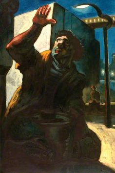 Art UK is the online home for every public collection in the UK. Peter Howson, Art Uk, Your Paintings, Attitude, Fictional Characters, Fantasy Characters