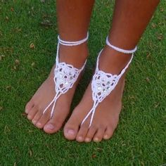 Image result for Barefoot Sandals Crochet Pattern Tutorials