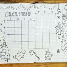 @bujobaby Christina77Star with 30 Christmas spread ideas for your bullet journal; Nov 2017 #christina77star #bulletjournaljunkies #christmasspread
