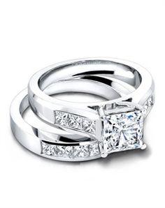 Jeff Cooper 3146 & 3146/B Engagement Ring and Jeff Cooper 3146 & 3146/B Wedding Ring