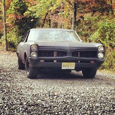 Matte Black Pontiac GTO