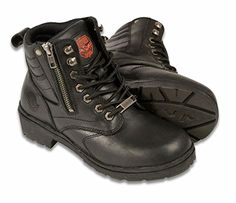 Special Offers - Milwaukee Womens Side Zipper Plain Toe Boots (Black Size 7.5) - In stock & Free Shipping. You can save more money! Check It (July 08 2016 at 03:44AM) >> http://motorcyclejacketusa.net/milwaukee-womens-side-zipper-plain-toe-boots-black-size-7-5/