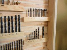 DIY Drill Bit/Router Bit Storage Cabinet..... I NEED THIS!!!!!
