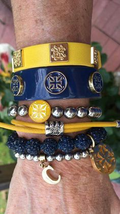 Blue and Yellow Stack!
