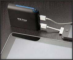 Super Capacity Charger  a 9900 mAh External battery with 2 USB ports