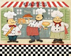 French Chefs I (Plout Gallery)