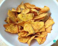 Receita de Chips de batata doce na AirFryer #batatadoce #comida #receita #chips #receitafit #receitalowcarb #airfryer