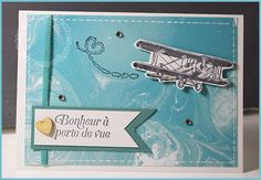 Dans les nuages - Carte scrap #469 - Stampin'up! Sale-A-Bration