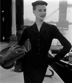 YES, 1950's HAS THE MOST WONDERFULLY FITTED/TAILORED MUST HAVE PENCIL SUITS
