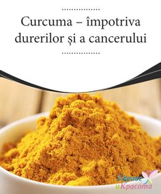 Against Aches and But beyond just giving meals taste and color turmeric has important that are anti-inflammatory, anti-carcinogenic, and Diet Planner, Turmeric, Cancer, Healthy Recipes, Meals, Breakfast, Ethnic Recipes, Currys, Food