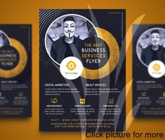Business Flyer Templates Free Best Of Professional Pany Services Flyer Free Psd Corporate Brochure Design, Company Brochure, Corporate Flyer, Corporate Business, Creative Business, Free Flyer Templates, Business Flyer Templates, Brochure Template, Flyer Free