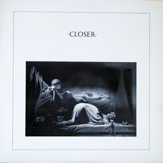 """CvA264. Joy Division - """"Closer"""" by Peter Saville / Factory Records 1980 / FACT25 / (The cover photo is a detail of the Appiani family tomb in the Staglieno Cemetery in Genova, Italy. The sculpture was made by Demetrio Paernio) #Albumcover"""