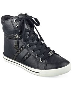 G by Guess   Black Orizze High Top Sneakers   Lyst