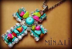 Croix - Bohemian Cross Necklace - Minali