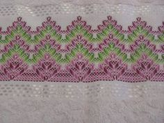 Swedish Embroidery, Simple Embroidery, Hand Embroidery, Applique Quilt Patterns, Embroidery Patterns, Crochet Patterns, Swedish Weaving, Bargello, Needlework