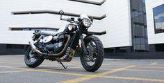 Moto transformada al Brat Style por Tamarit Motorcycles.