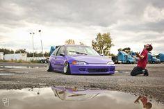 #Purple #CIVIC #HONDA