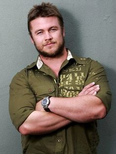 The Reckoning will show the debut of Luke Hemsworth, the older brother of Chris and Liam Hemsworth. Luke Hemsworth, Hemsworth Brothers, Hollywood Men, Hot Guys, Hot Men, Cute Boys, Actors & Actresses, It Cast, Handsome
