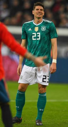 f44298b89 Germany s forward Mario Gomez reacts during the international friendly  football match of Germany vs Spain in