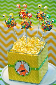 Little Monster Birthday, Monster 1st Birthdays, Monster Birthday Parties, 1st Boy Birthday, First Birthday Parties, Birthday Party Themes, First Birthdays, Birthday Ideas, Monster Inc Party