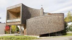 Modern Finish Circular Shaped Home - http://www.usualhouse.com/modern-finish-circular-shaped-home/