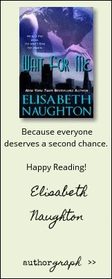 """Authorgraph from Elisabeth Naughton for """"Wait For Me"""""""