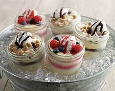 Mason Jar Ice Creams Recipe - A fun way to serve ice cream to your family and friends #Schwans #EasyRecipes #Inspiration