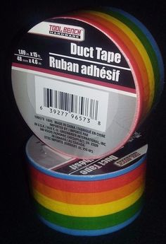 1 Roll of Tool Bench Brand 'Rainbow Print'  Duct Tape  *C11* | Crafts, Multi-Purpose Craft Supplies, Adhesives & Tape | eBay!