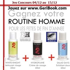 #concours #Noël Routine Homme 3 soins Billy Jealousy #Noël blog beauté geribook