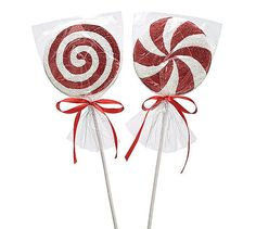 Peppermint Picks/Sprays Wreath Accents by CustomWreathDecor www.customwreathdecor.etsy.com