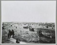 Dedication at Gettysburg battlefield in November 1863. #civilwar