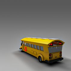 Buy Low Poly School Bus by Casper_Graphic on low poly school bus. The model was created in cinema Accurate forms of polygonal shapes, give this model more . Cartoon City, Car 3d Model, Low Poly 3d Models, Cinema 4d, 3d Design, Taxi, Vr, Vehicle, Truck