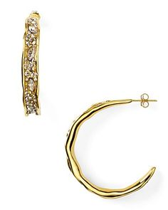 These are the ultimate gold hoops. I'm not sure there is anything that can compare!