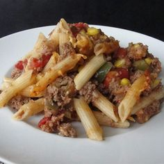 """Sloppy Joe Casserole 