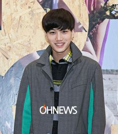 140124 EXO-K for Kolon Sport 2014 S/S Collection event - KAI