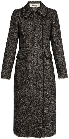 DOLCE & GABBANA Double-breasted bouclé-tweed coat
