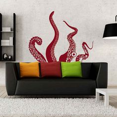 For the playful . | 17 Spectacular Wall Decals That Will Totally Change Your Space