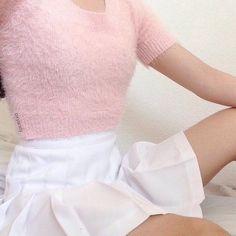 Imagem de pink, pale, and grunge