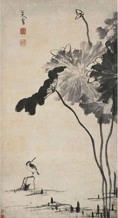 八大山人, (1626-1705). Chinese artist