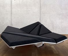 Alexander Rehn's Cay Sofa. So excellent. Totally weird and futuristic, but I really want to have it.