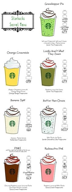 starbucks secret menu - Поиск в Google