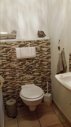 Peel and stick wall tiles made simple. Just peel and stick on any clean and sleek surfaces. Smart Tiles, Decorative Wall Tiles, Diy Network, Make It Simple, Ajouter, Inspiration, Home, Toilets, My Dream House
