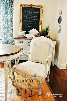 Miss Mustard Seed Blog: All about indoors, furniture, antiques and refurbished projects. Gorgeous.