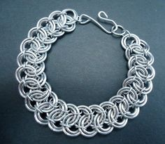 Rolling Waves Handmade Chainmaille Bracelet by lanzacreations, $30.00 - Picmia