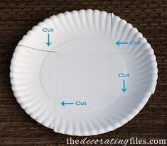 DIY: Party Containers from Paper Plates