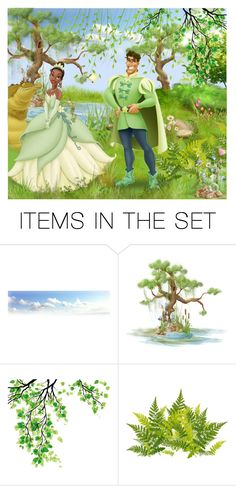 """The princess and the frog! - Contest!"" by asia-12 ❤ liked on Polyvore featuring art"